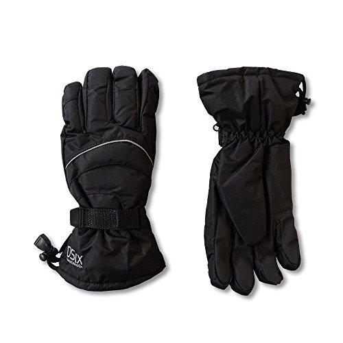 Doublesix Ski Handschuhe Herren Winterhandschuhe Skihandschuhe schwarz 4018445, Größe:9.5