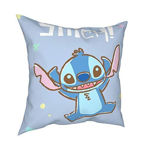 St-itch almohada de 50,8 x 50,8 cm, se puede utilizar en cualquier habitación, casa de vacaciones