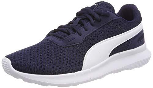 Puma Unisex-Kinder ST Activate Jr Sneaker, Schwarz (Black White), 37.5 EU