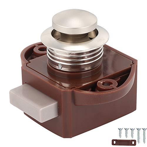 Gorgeri boot drukknop slot, aluminium legering sleutelloze drukknop vangslot voor boot RV lade kabinet deur luik knop