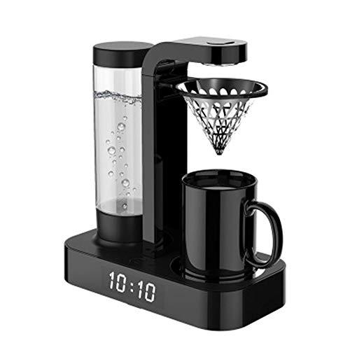 PRG Kaffeemaschine Multifunktionale Tropfkaffeemaschine Uhr nach Hause automatische amerikanische Mode kleinen Tropf abnehmbare Kaffeemaschine