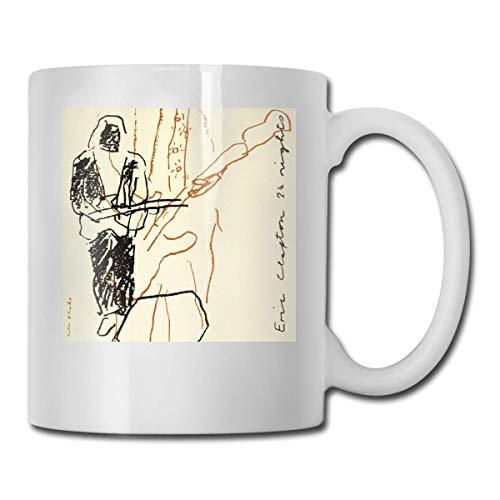 Lsjuee Eric Clapton Complete Clapton Las mejores ideas de regalos para el día del padre para tazas de café Taza divertida para regalo de Navidad Bebida de personalidad Cu