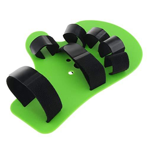 Nobranded Soporte de Entrenamiento de Férula de Mano para Trazo de Diapasón Ortopédico para Dedos - Verde
