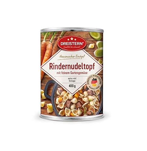 Dreistern Hausmacher Rindernudeltopf + Gemüse 400gr Dose