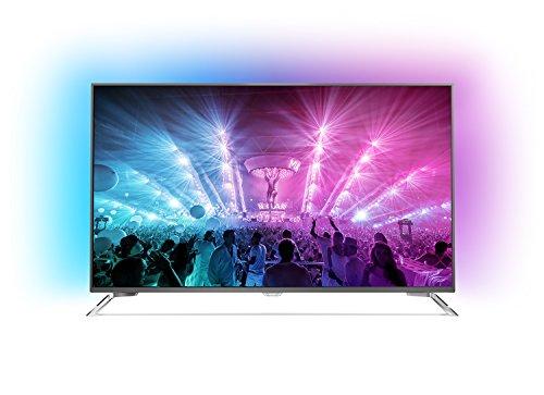 Philips 49PUS7101/12 123 cm (49 Zoll) Fernseher (Ambilight, 4K Ultra HD, Triple Tuner, Smart TV)