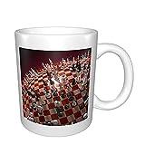 A World of Chess Game Taza de cerámica para café, té, cacao, taza de café grande con asa para oficina y hogar, tazas de porcelana lindas regalo para el día de la madre y cumpleaños y vacaciones