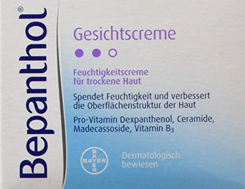 Bepanthol - Crema facial, 50 ml