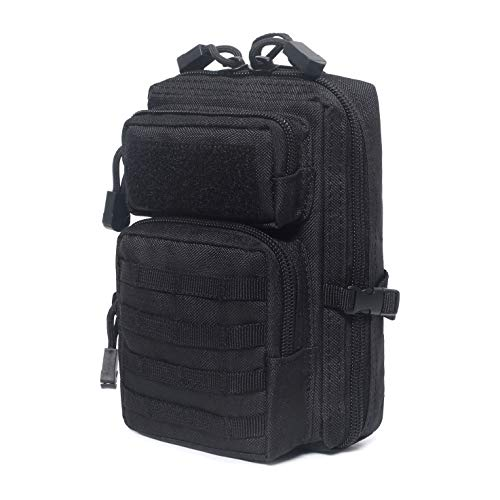 Tactical Molle Compact EDC Tool Pouch (Black)