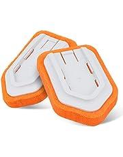 MATCC 2PCS Cepillo de Baño y Bañera de Cabezales Accesorios de Limpieza Se Adapta a MBS001 y MBB001