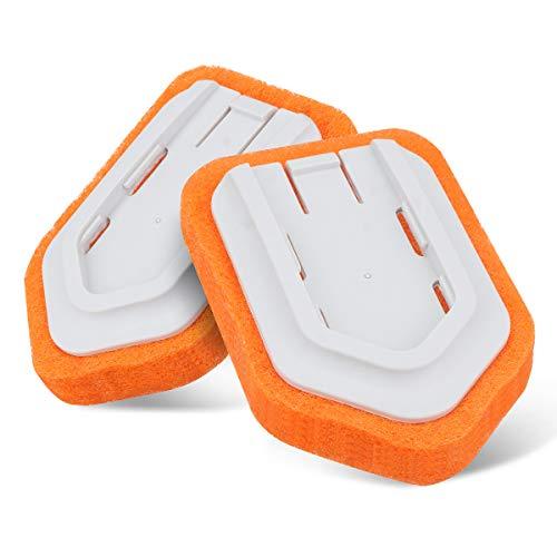 MATCC Nachfüllpackung für den Wannen- und Fliesenschrubber Schrubber Austauschbar Kopf Reinigungsbürste für Pool, Fußboden, Küche, Badezimmer
