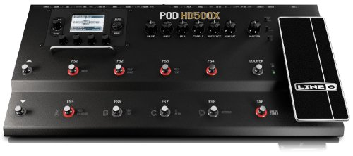 Line 6 マルチエフェクトプロセッサー POD HD500X