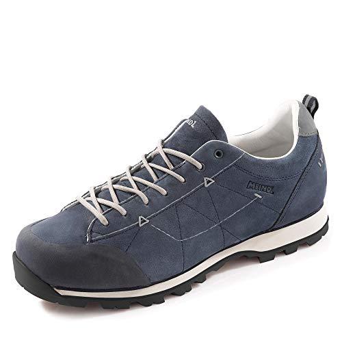 Meindl 4624-49 Rialto Chaussures d'extérieur pour Homme en Cuir Nubuck Semelle Amovible Taille 41 Bleu foncé
