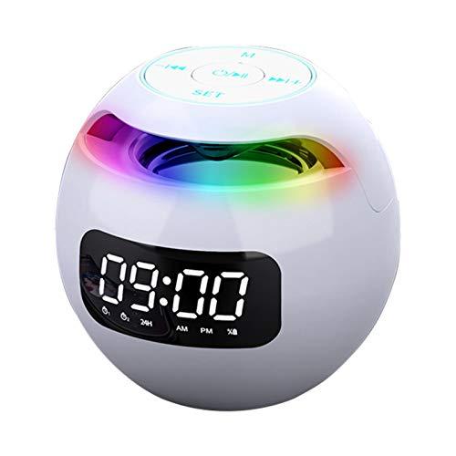 Mothcattl Tragbarer Kabelloser Bluetooth 5.0-Lautsprecher-Basslautsprecher,...