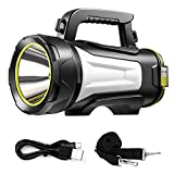 AOGELI Rechargeable Emergency Flashlight,Outdoor Flashlight,Water...