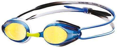 Arena Unisex's Zwembril Tracks Spiegel, Blauw/Blauw/Groen, Senior
