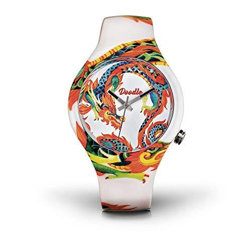 Doodle Watch Dragon Mood DODR002 Unisex Armbanduhr