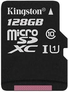 كينغستون اس دي سي 4 بطاقة ذاكرة فلاش 128 جيجا فئة 10 microSDXC
