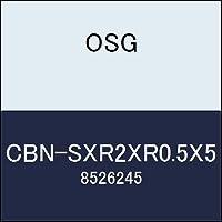 OSG エンドミル CBN-SXR2XR0.5X5 商品番号 8526245