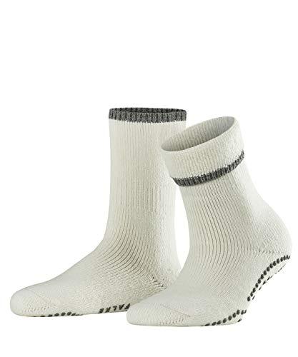 FALKE Damen Vollplüschsocken Cuddle Pads - Baumwollmischung, Warmer Vollplüschsocken für Damen aus Merinowolle und Baumwolle; ideal für Zuhause, Weiß (Off-white 2049), 39-42, 1er Pack