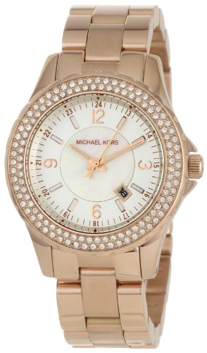 Michael Kors - Quartz Classic Rose Gold with White Dial Women