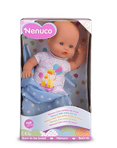 Nenuco Recién Nacido - Muñeco Infantil con Sonidos de Beb