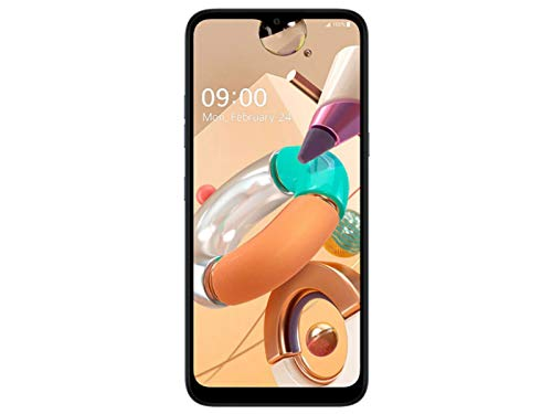 LG K41S Smartphone Dual SIM con 5 Fotocamere, Sensore Macro, Display 6.5'' HD+, Batteria 4000mAh, Audio DTS:X, Octa-Core 2.0GHz, Memoria 32GB, 3GB RAM, cover trasparente inclusa, Titanium [Italia]