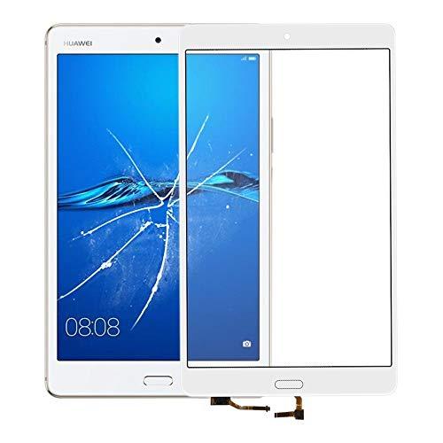 Beilaishi Touch Panel for Huawei Mediapad M3 BTV-DL09 BTV-W09 (Bianco) Kit di Sostituzione Monitor Schermo (Color : White)