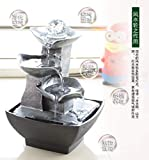 ANDAZIYAN Sanabria Creative Small Ornaments Home Gardening Decoration Rockery Water Fountain Crafts Gift Desktop Decorations