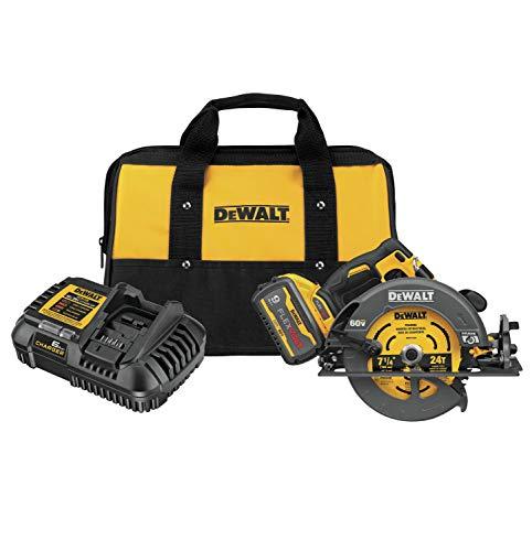 DEWALT FLEXVOLT 60V MAX Circular Saw with Brake Kit, 7-1/4-Inch (DCS578X1)