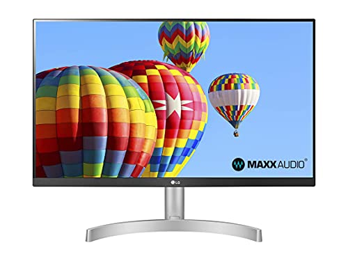 "LG 24ML600S Monitor 24"" Full HD LED IPS, 1920 x 1080, 1ms MBR, AMD FreeSync 75Hz, Audio Estéreo 10W, HDMI (HDCP 1.4), VGA, Salida de Audio, Flicker Safe, Blanco"