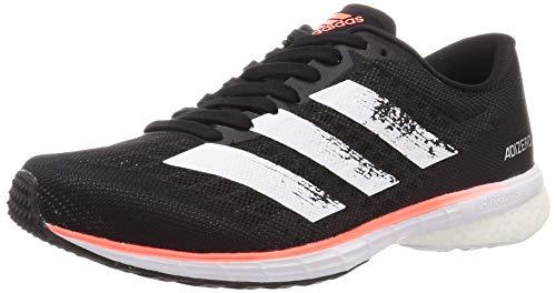 Adidas Adizero Adios 5 m, Zapatillas para Correr para Hombre, Core Black/FTWR White/Signal Coral, 43.33 EU