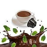 16 Capsule After Eight Cioccolato e Menta - Cialde Compatibili Nescafe Dolce Gusto
