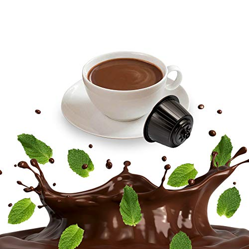 Kickkick After Eight - Cioccolato e Menta Cialde Compatibili Nescafe Dolce Gusto - 32 Capsule