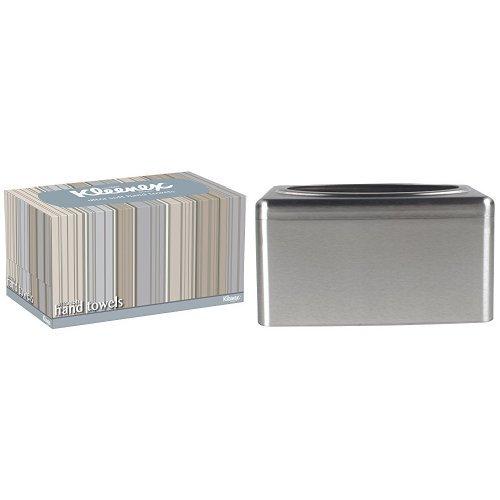 Kleenex 1126 Ultra weiche Papierhandtücher (Interfolded), 73 Blatt pro Karton, 18-er Pack Plus Spender