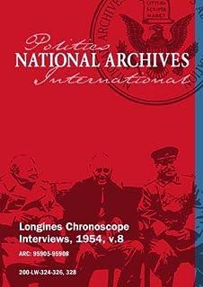 Longines Chronoscope Interviews, 1954, v.8: Harold E. Stassen, Basil O'Connor