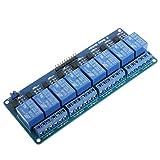 ShiSyan Modulo relè Shield, 8-CH 5V Controllo relè Consiglio Modulo con optoisolatore
