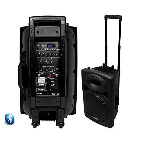 Altavoces Activa USB SD SONO DJ Ibiza PORT12VHF-BT Bluetooth