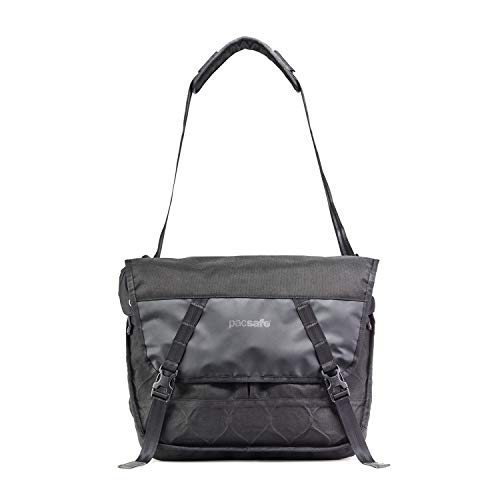 Pacsafe Ultimatesafe - Rucksack mit Exomesh Locking System, Tasche mit Anti-Diebstahl Technologie, Mobiler Safe, 12 Liter, Schwarz/Black