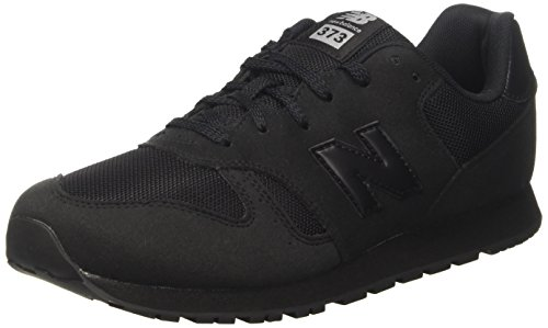 New Balance 373, Sneaker Unisex-Bambini, Nero (Black), 38 EU