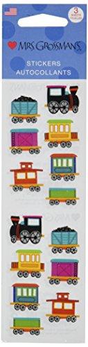 Mrs Grossman Stickers-Chubby Train