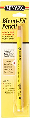 Minwax 110036666 No 3 Blend Fil Wood Repair Stain Pencil, Natural Birch