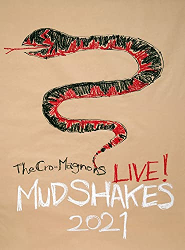 【Amazon.co.jp限定】ザ・クロマニヨンズ ライブ ! MUD SHAKES 2021 (初回生産限定盤) (DVD) (A4トートバッグ付)