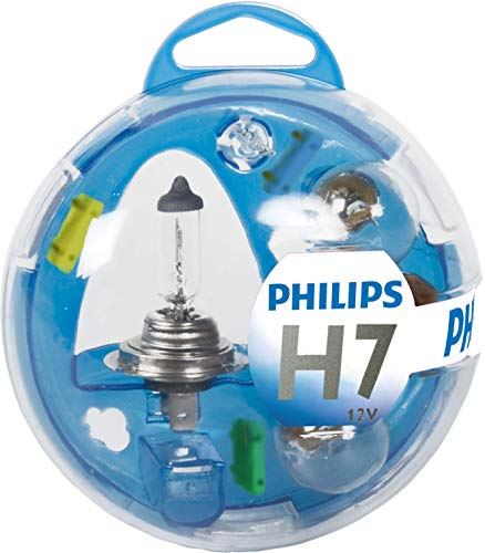 Philips 55717EBKM Essential Box - Caja de bombillas de recambio para coches (H7)