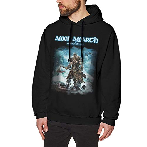 Sudaderas de Hombre Amon Amarth Man'S Hoodie Sweater Fashion Classic Long Sleeve Top Hoodies Hooded Sweatshirt Casual Top