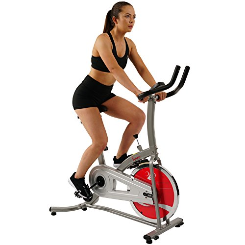 Best Exercise Bike Under 200 - Sunny Health & Fitness Indoor Cycle Exercise Stationary Bike