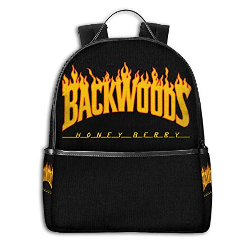 Backpack Flame Backwoods Laptop Backpack Fashion Theme School Backpack
