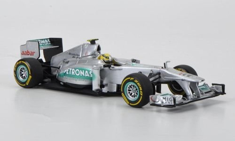 Mercedes AMG Petronas F1 team, No.8, N.Rosberg, Presentations vehicle, 2012, Model Car, Readymade, Minichamps 1 43