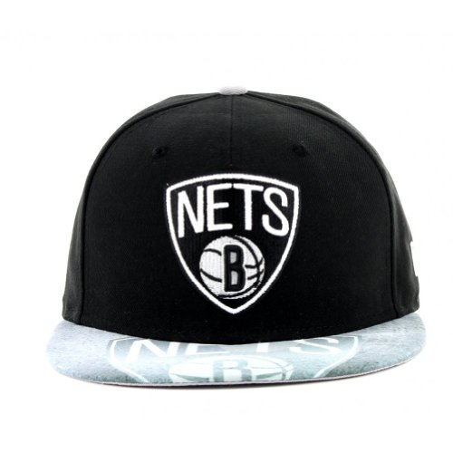 Brooklyn Nets Viza Sketch 59Fifty Fitted Cap - 7 1/4 UK