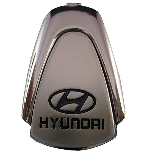 Ludostreet ref0008 Llavero de Metal Compatible con Marcas de Coche (Compatible con Hyundai)