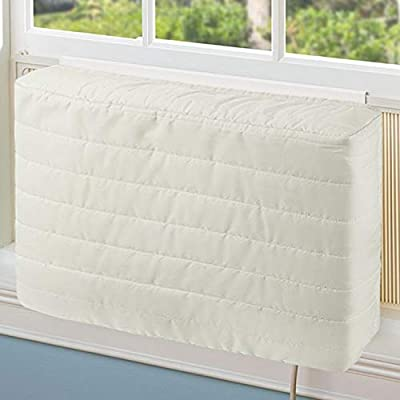 COSFLY Indoor Air Conditioner Cover AC Unit Covers for Inside 16 x 13 x 3 inches (L x H x D)
